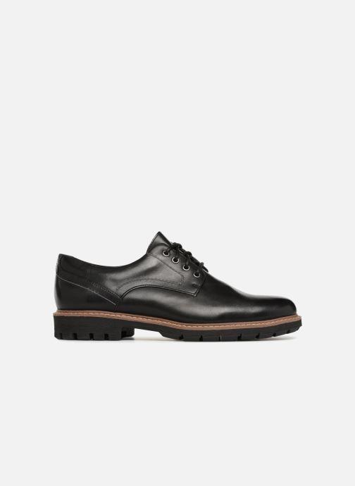 Chaussures à lacets Clarks Batcombe Hall Noir vue derrière