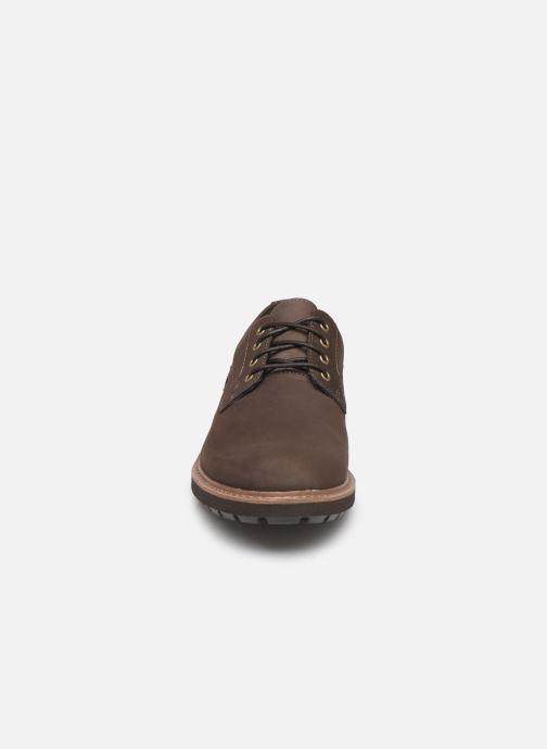 Chaussures à lacets Clarks Batcombe Hall Marron vue portées chaussures