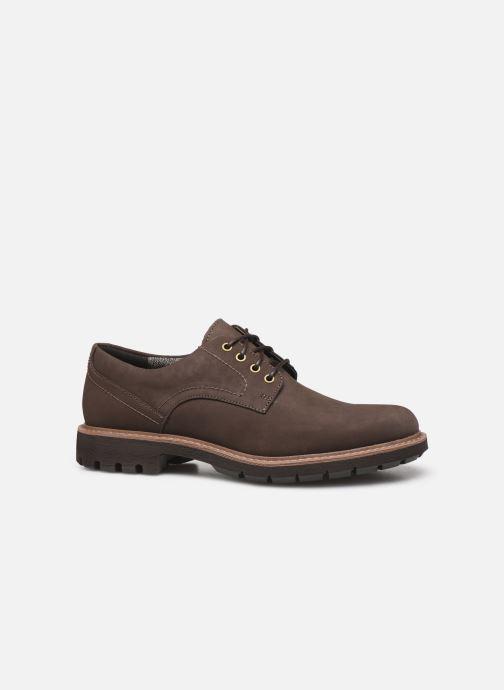 Chaussures à lacets Clarks Batcombe Hall Marron vue derrière