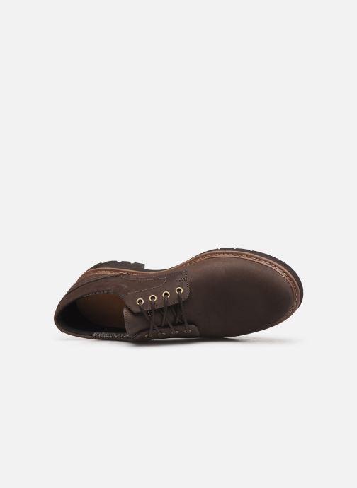 Chaussures à lacets Clarks Batcombe Hall Marron vue gauche