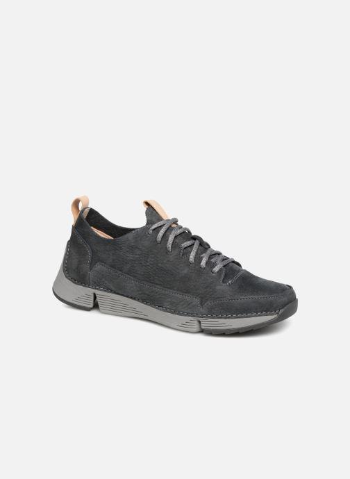 Donna Clarks Tri Clara Scarpe Con Lacci Casual In Pelle Comfort Shoes