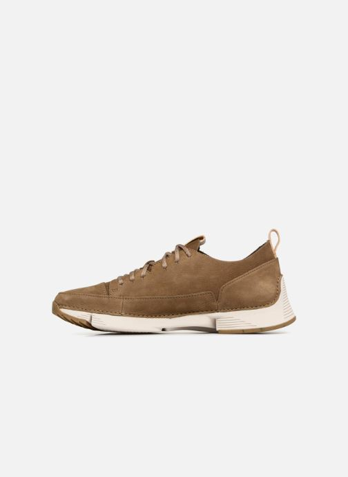 Sneakers Clarks Tri Spark Verde immagine frontale