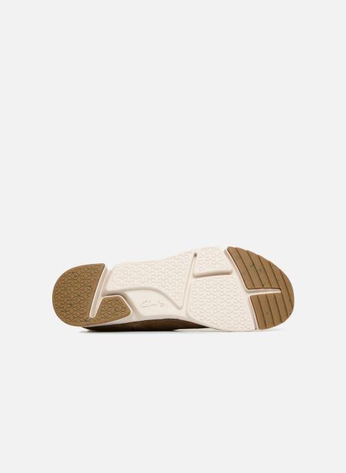 Sneakers Clarks Tri Spark Verde immagine dall'alto