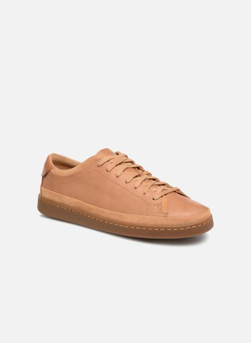 Sneakers Clarks Nathan Craft Bruin detail