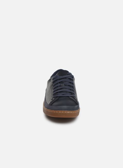 Trainers Clarks Nathan Craft Blue model view