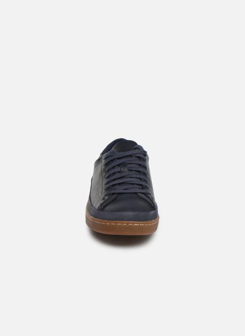 Sneaker Clarks Nathan Craft blau schuhe getragen