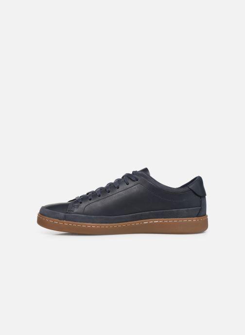 Sneakers Clarks Nathan Craft Blauw voorkant