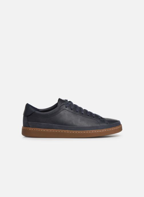 Sneakers Clarks Nathan Craft Blauw achterkant