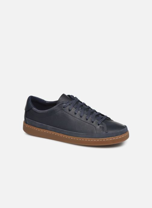 Trainers Clarks Nathan Craft Blue detailed view/ Pair view