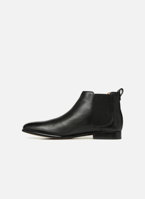 Stiefeletten & Boots Clarks Form Chelsea schwarz ansicht von vorne
