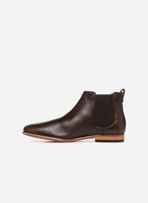 Stiefeletten & Boots Clarks Form Chelsea braun ansicht von vorne