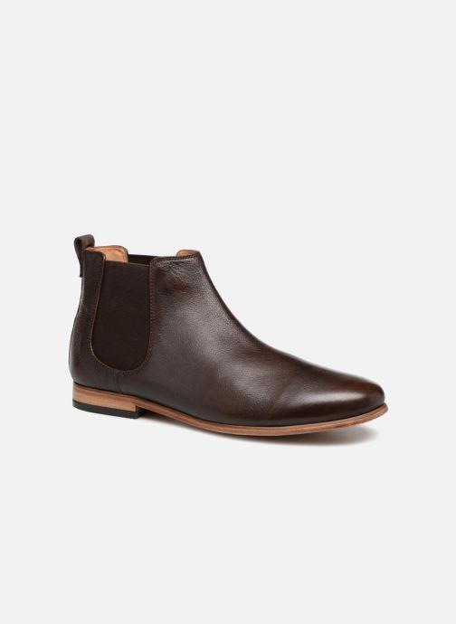 Bottines et boots Clarks Form Chelsea Marron vue détail/paire