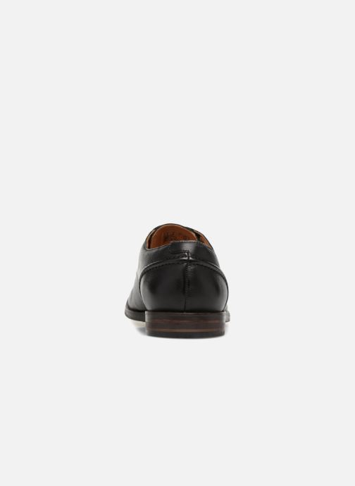 Lace-up shoes Clarks Glide Lace Black view from the right