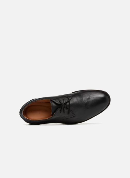 Lace-up shoes Clarks Glide Lace Black view from the left