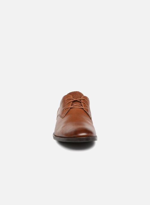 Lace-up shoes Clarks Glide Lace Brown model view