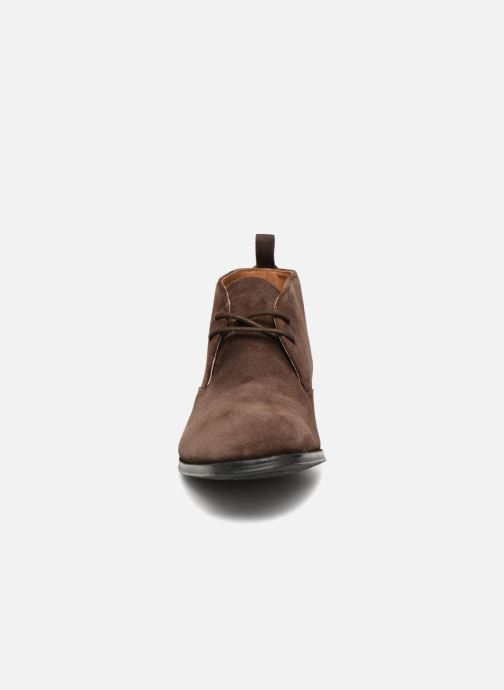 Stiefeletten & Boots Clarks Gilman Mid braun schuhe getragen