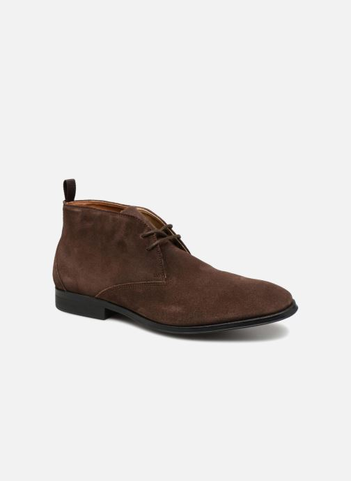 Boots en enkellaarsjes Clarks Gilman Mid Bruin detail
