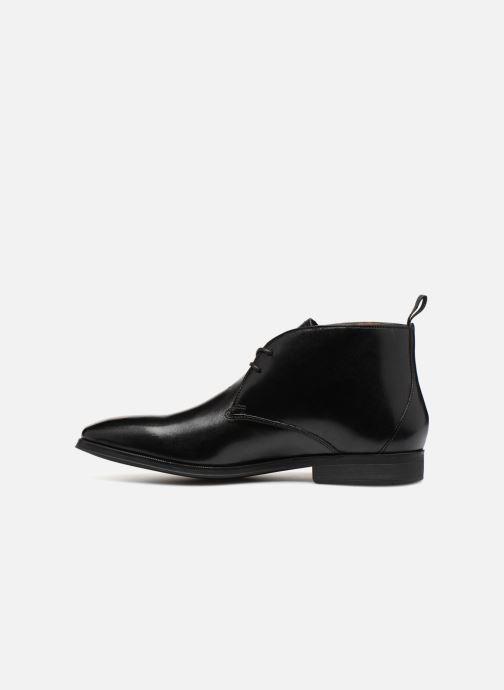 Bottines et boots Clarks Gilman Mid Noir vue face