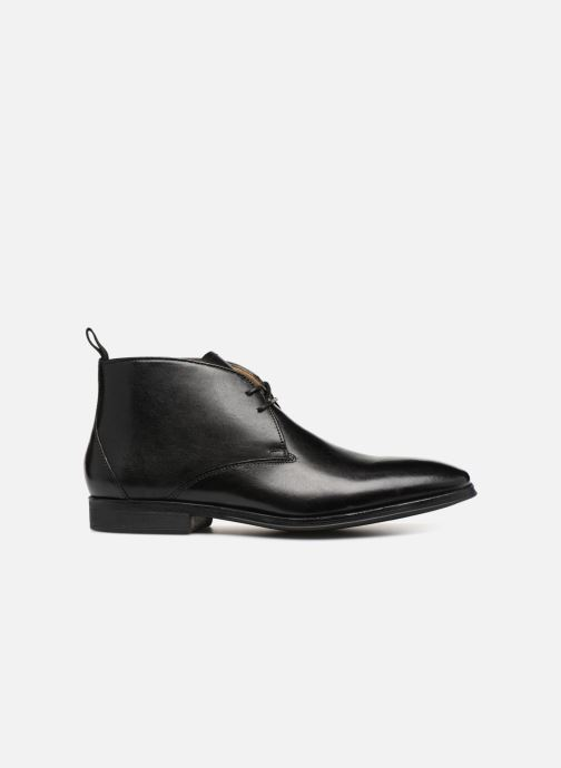Ankle boots Clarks Gilman Mid Black back view