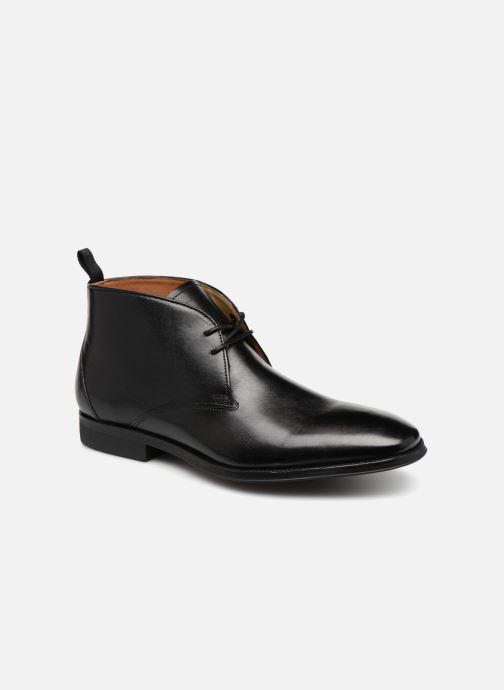 Bottines et boots Clarks Gilman Mid Noir vue détail/paire