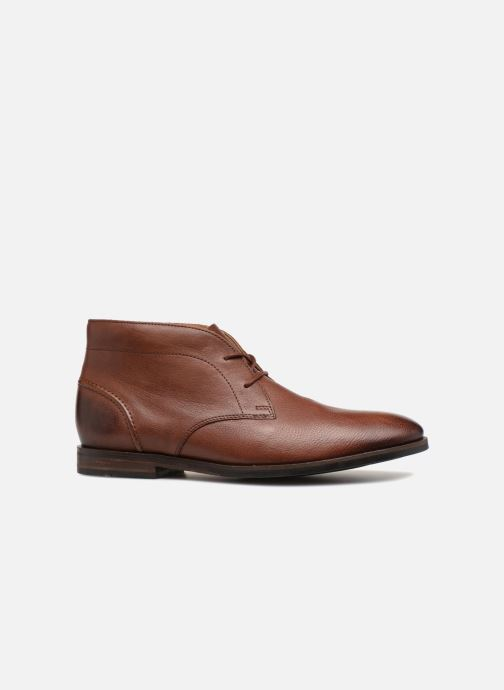 Ankle boots Clarks Glide Chukka Brown back view