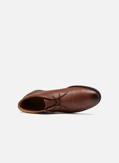 Stiefeletten & Boots Clarks Glide Chukka braun ansicht von links