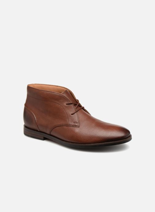 Ankle boots Clarks Glide Chukka Brown detailed view/ Pair view