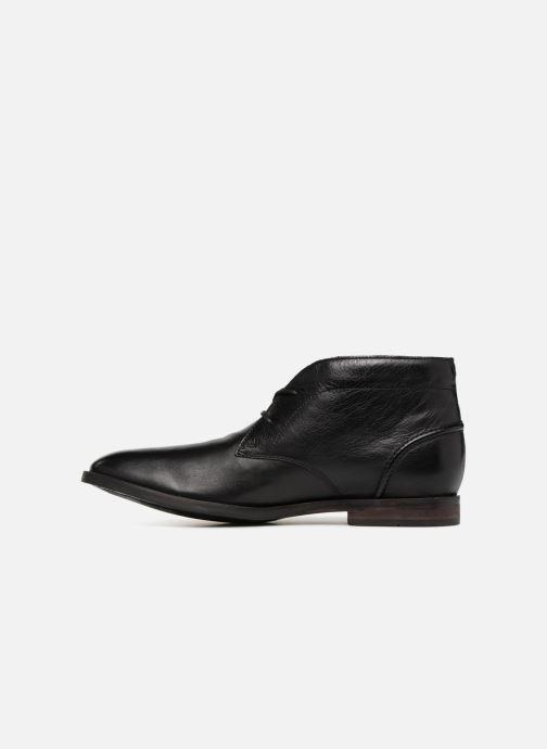 Bottines et boots Clarks Glide Chukka Noir vue face