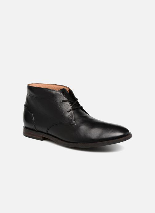 Bottines et boots Clarks Glide Chukka Noir vue détail/paire