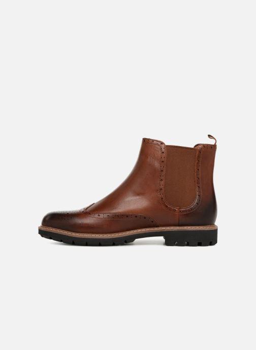 Stiefeletten & Boots Clarks Batcombe Top braun ansicht von vorne