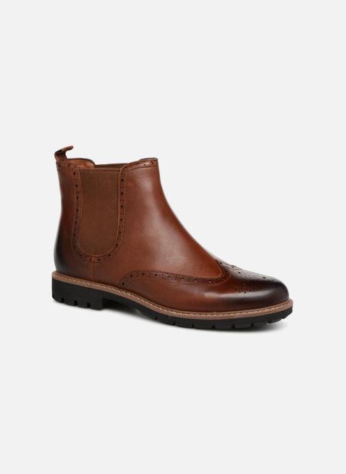 Bottines et boots Clarks Batcombe Top Marron vue détail/paire