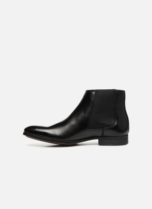 Ankle boots Clarks GilmoreChelsea Black front view