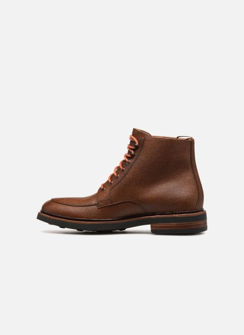Boots en enkellaarsjes Clarks Whitman Hi Bruin voorkant