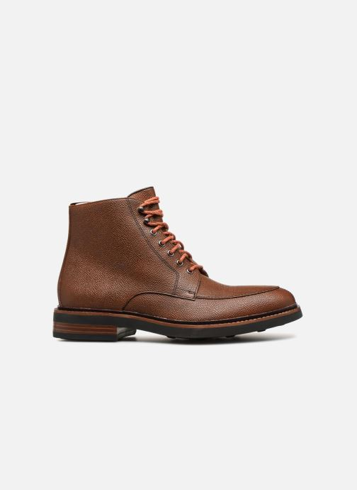 Ankle boots Clarks Whitman Hi Brown back view
