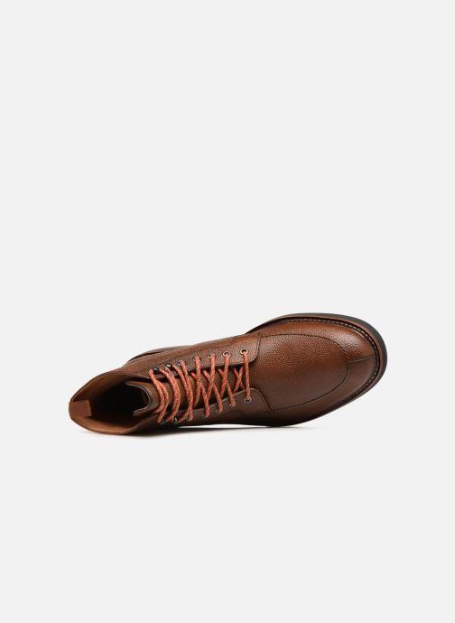Boots en enkellaarsjes Clarks Whitman Hi Bruin links