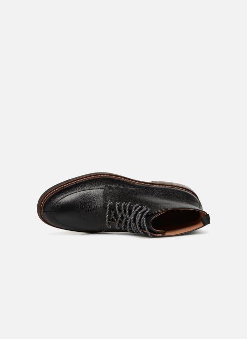 Bottines et boots Clarks Whitman Hi Noir vue gauche