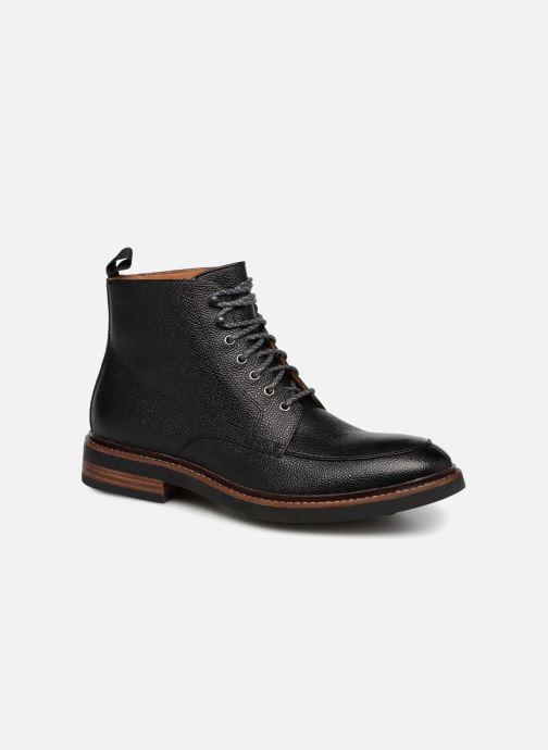 Bottines et boots Clarks Whitman Hi Noir vue détail/paire