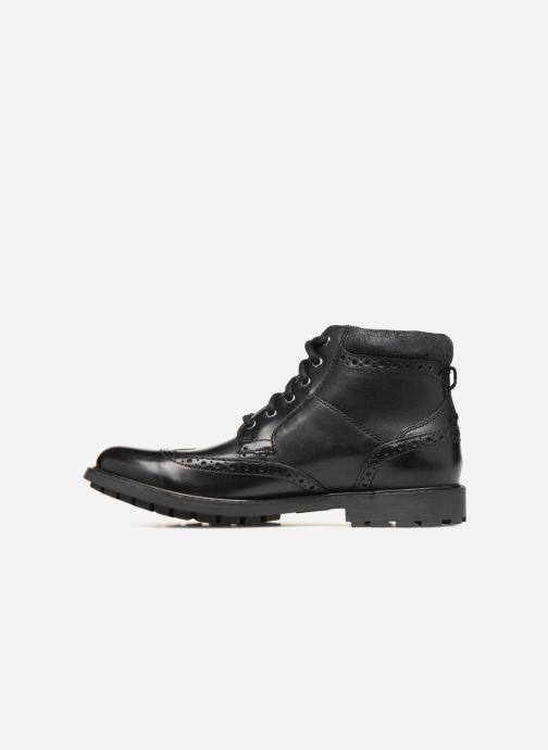 Stiefeletten & Boots Clarks Curington Rise schwarz ansicht von vorne
