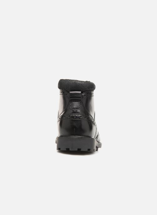 Ankle boots Clarks Curington Rise Black view from the right