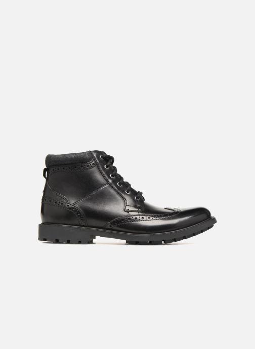 Boots en enkellaarsjes Clarks Curington Rise Zwart achterkant