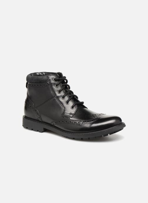 Ankle boots Clarks Curington Rise Black detailed view/ Pair view