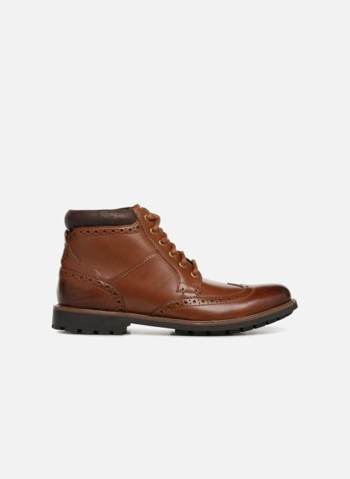 Ankle boots Clarks Curington Rise Brown back view