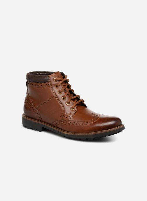 Bottines et boots Clarks Curington Rise Marron vue détail/paire