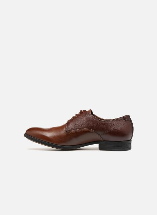 Lace-up shoes Clarks Gilmore Walk Brown front view