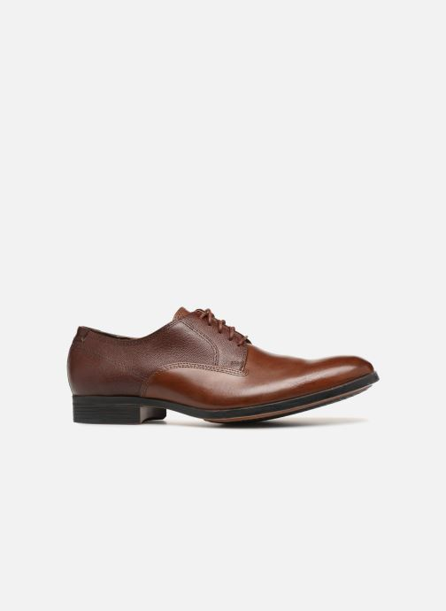 Lace-up shoes Clarks Gilmore Walk Brown back view
