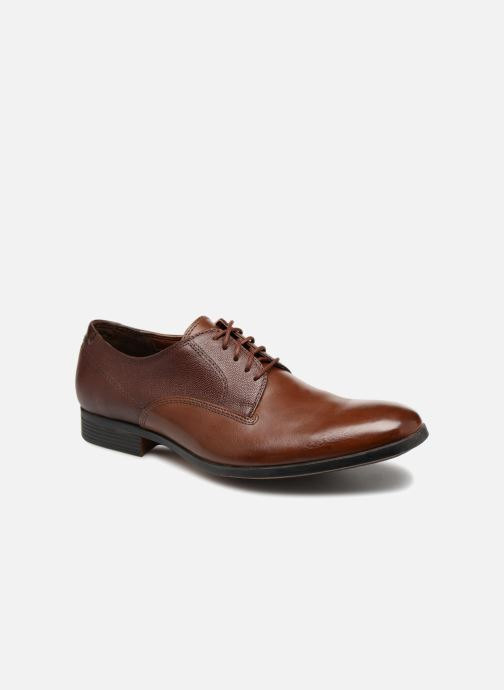 Lace-up shoes Clarks Gilmore Walk Brown detailed view/ Pair view