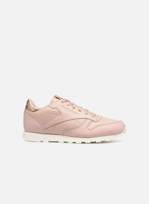 Trainers Reebok Classic Leather J Pink back view
