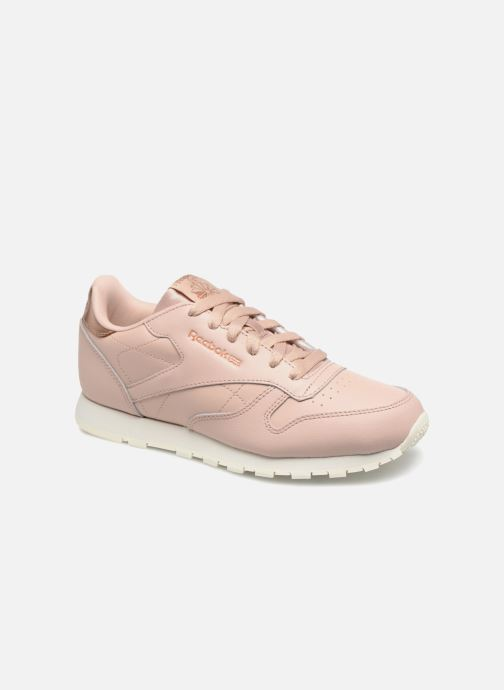 Trainers Reebok Classic Leather J Pink detailed view/ Pair view