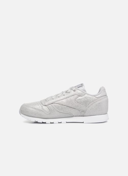 Sneakers Reebok Classic Leather J Zilver voorkant