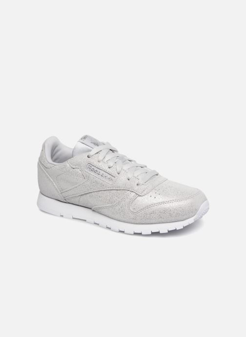 Sneakers Reebok Classic Leather J Zilver detail